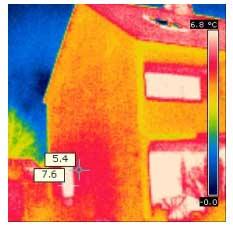 Wärmebildaufnahme zur Lecksuche